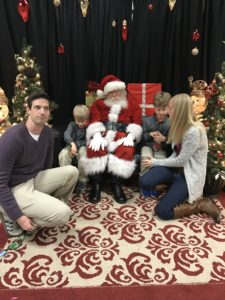 We are never any good at family pics.... especially when Santa is around, HA!